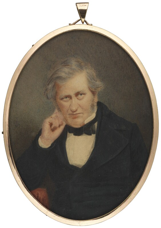 Gilbert Abbott à Beckett, by Charles Couzens, 1855 -NPG 1362 - © National Portrait Gallery, London
