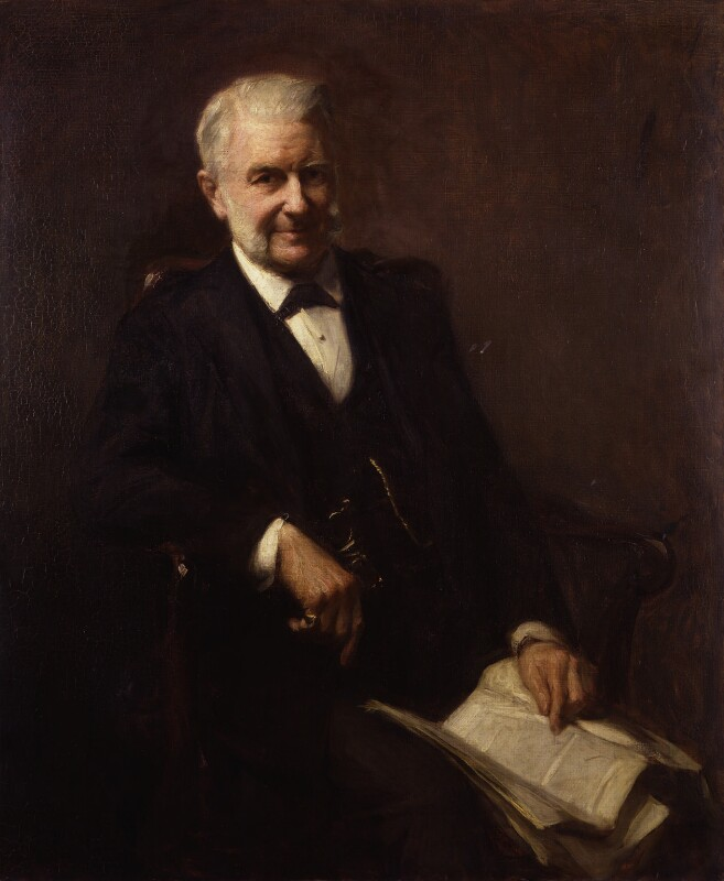 Sir Frederick Augustus Abel, 1st Bt, by Frank Bramley, 1900 - NPG 4926 - © National Portrait Gallery, London