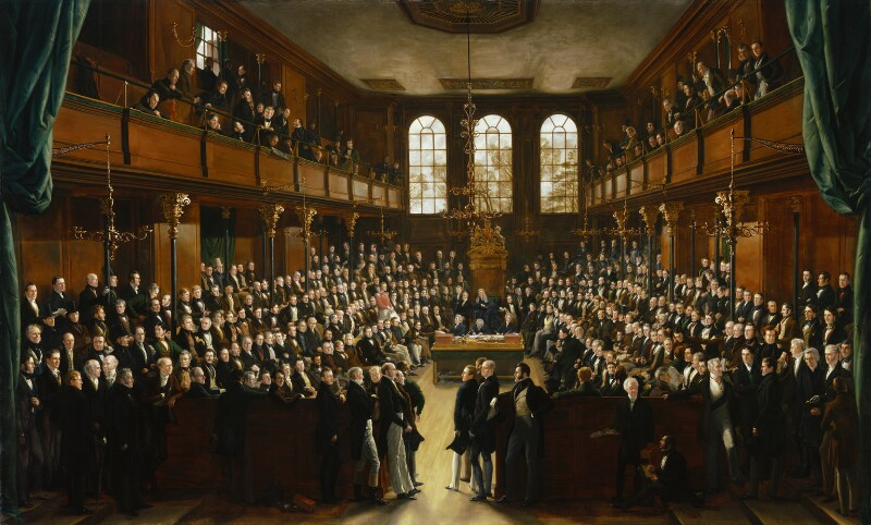 The House of Commons, 1833, by Sir George Hayter, 1833-1843 -NPG 54 - © National Portrait Gallery, London
