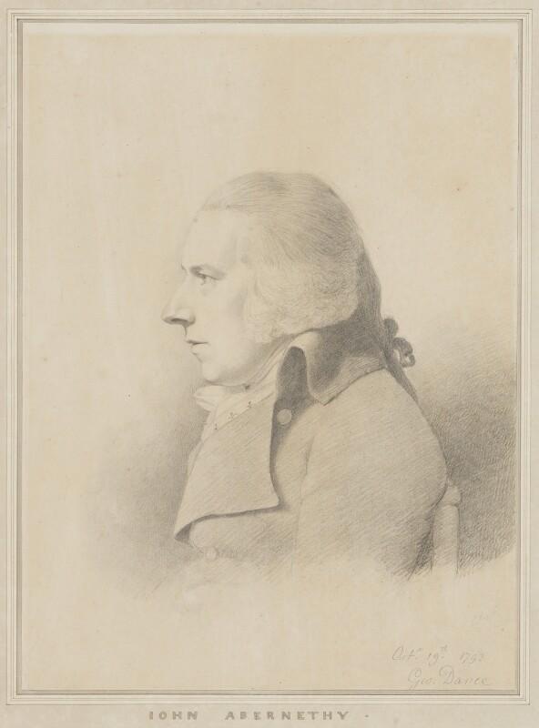 John Abernethy, by George Dance, 1793 -NPG 1253 - © National Portrait Gallery, London