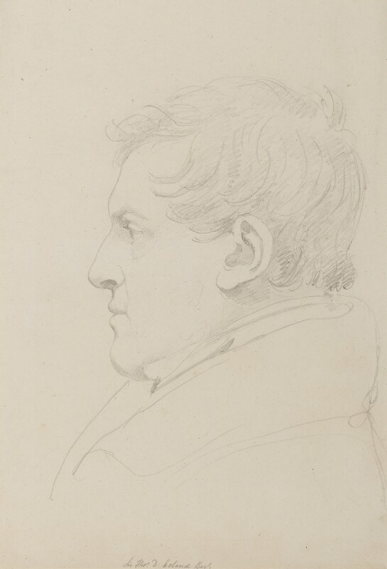 Sir Thomas Dyke Acland, 10th Bt, by Sir Francis Leggatt Chantrey, 1820s or 1830s -NPG 316a(1) - © National Portrait Gallery, London