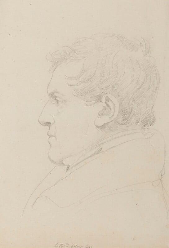 Sir Thomas Dyke Acland, 10th Bt, by Sir Francis Leggatt Chantrey, 1820s or 1830s - NPG 316a(1) - © National Portrait Gallery, London
