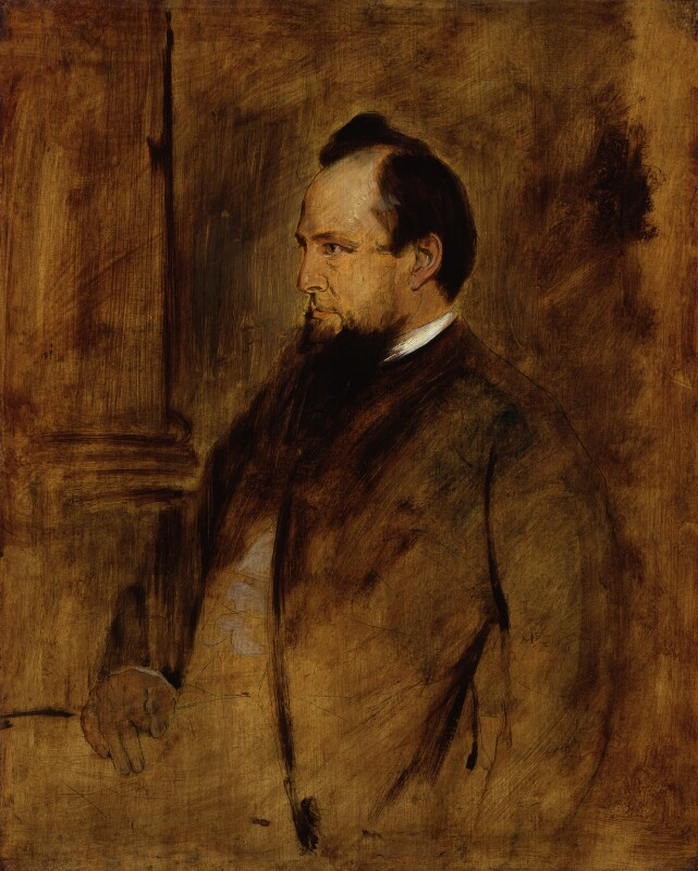 John Acton, 1st Baron Acton, by Franz Seraph von Lenbach, circa 1879 - NPG 4083 - © National Portrait Gallery, London