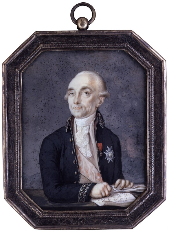 Sir John Francis Edward Acton, 6th Bt, by Peter Edward Stroehling, circa 1792 - NPG 4082 - © National Portrait Gallery, London
