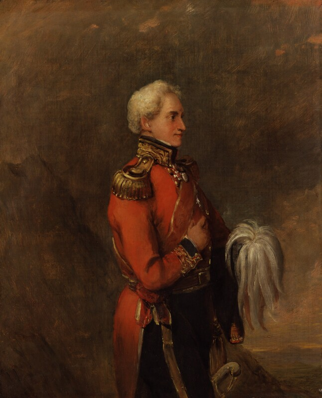 Sir Frederick Adam, by William Salter, 1848 or after -NPG 3689 - © National Portrait Gallery, London