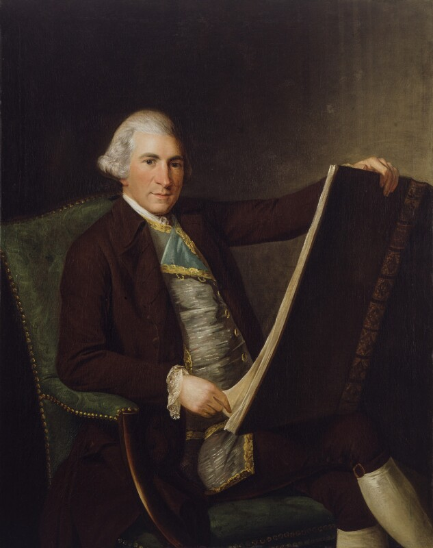 Robert Adam, attributed to George Willison, circa 1770-1774 - NPG 2953 - © National Portrait Gallery, London
