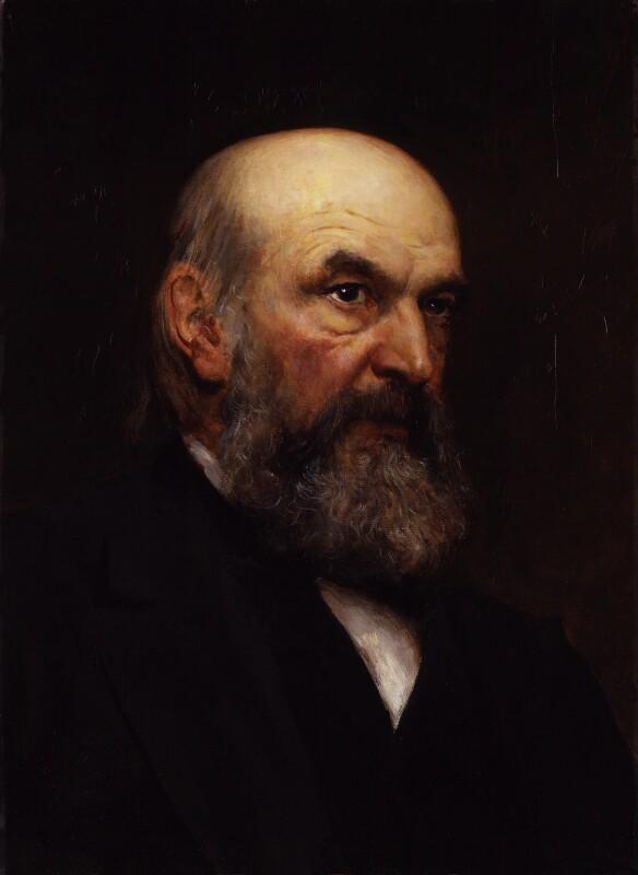 John Couch Adams, by Sir Hubert von Herkomer, 1888 - NPG 1842 - © National Portrait Gallery, London