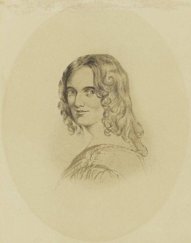 Sarah Flower Adams, after Margaret Gillies, 1850-1875 - NPG 1514 - © National Portrait Gallery, London