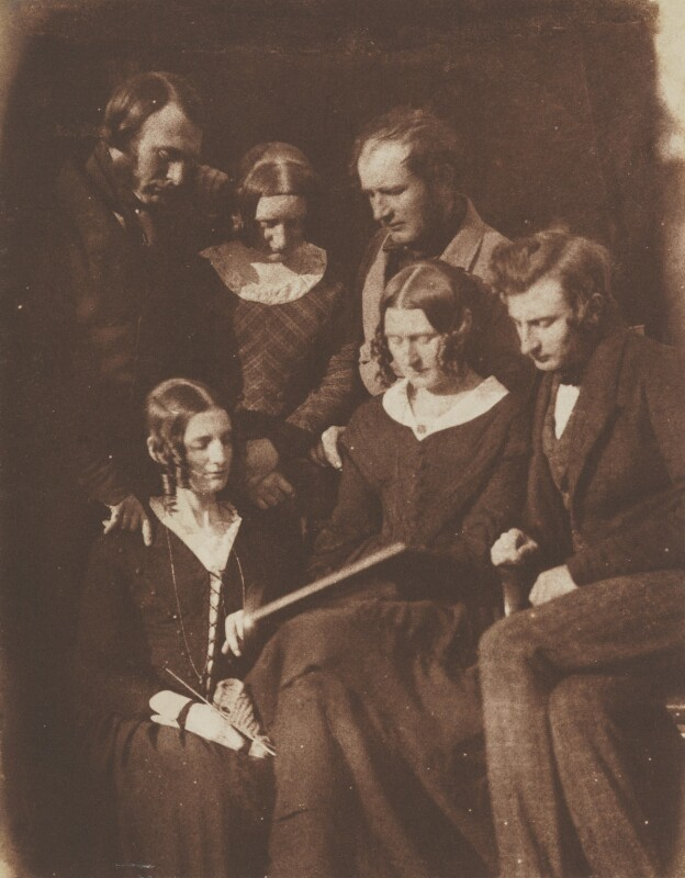 The Adamson Family, by David Octavius Hill, and  Robert Adamson, circa 1844-1845 - NPG P6(153) - © National Portrait Gallery, London