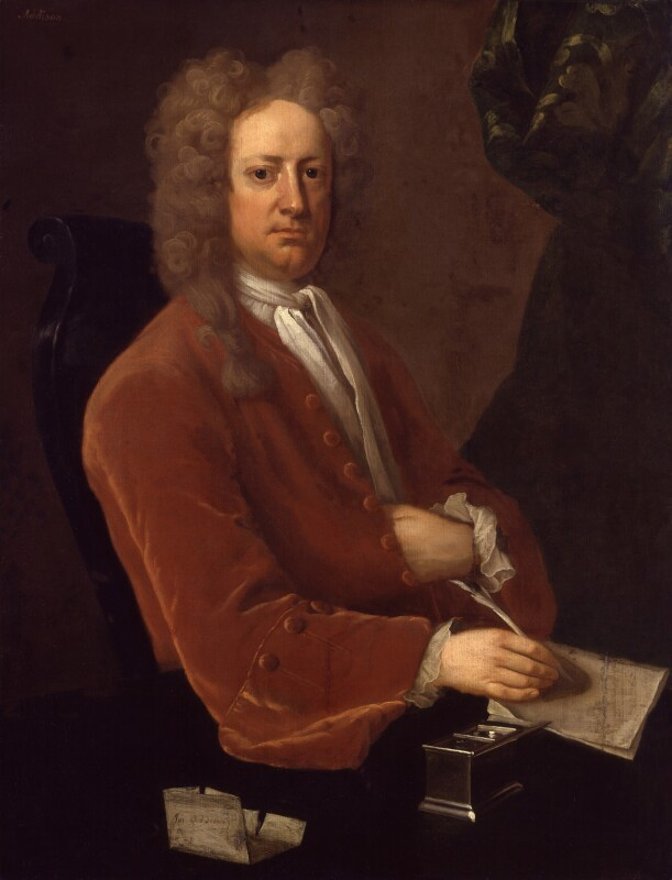 Joseph Addison, by Michael Dahl, 1719 - NPG 714 - © National Portrait Gallery, London