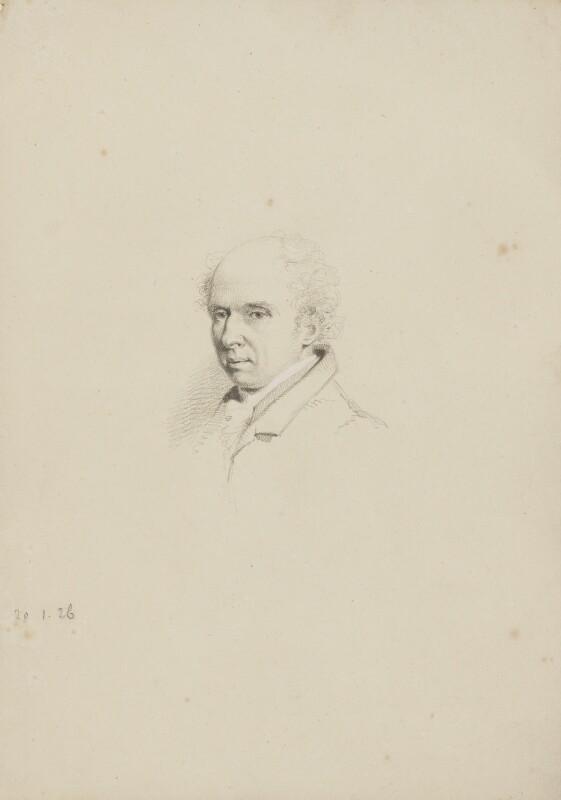 Arthur Aikin, by William Brockedon, 1826 - NPG 2515(9) - © National Portrait Gallery, London
