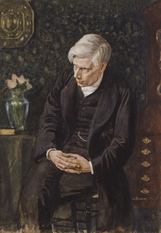 Alfred Ainger, by George Du Maurier, circa 1881 - NPG 2660 - © National Portrait Gallery, London