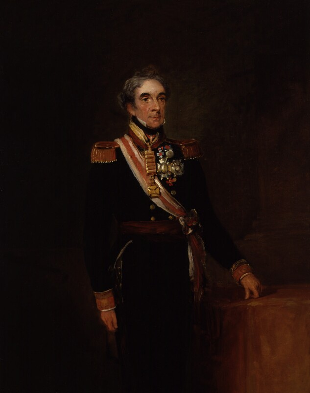 Don Miguel Ricardo de Alava, by William Salter, 1830-1840 -NPG 3691 -