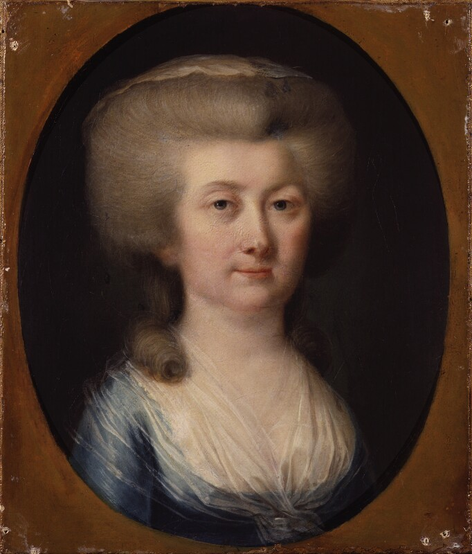 Unknown woman, formerly known as Louisa, Countess of Albany, by Hugh Douglas Hamilton, circa 1785 -NPG 377 - © National Portrait Gallery, London