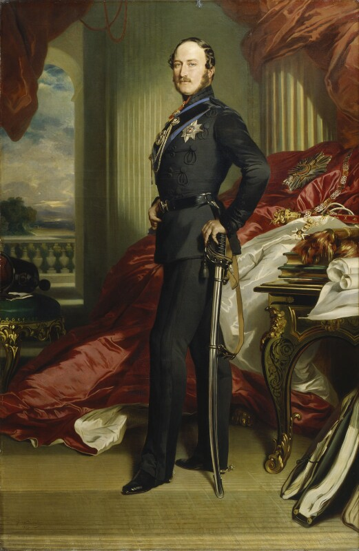Prince Albert of Saxe-Coburg-Gotha, replica by Franz Xaver Winterhalter, 1867, based on a work of 1859 - NPG 237 - © National Portrait Gallery, London