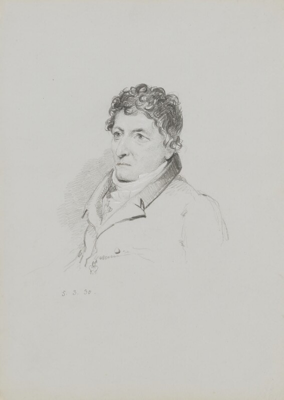 Giovanni Aldini, by William Brockedon, 1830 - NPG 2515(19) - © National Portrait Gallery, London