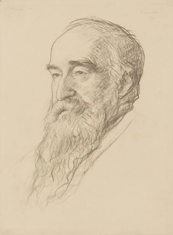 Samuel Alexander, by Francis Dodd, 1932 - NPG 4422 - © National Portrait Gallery, London