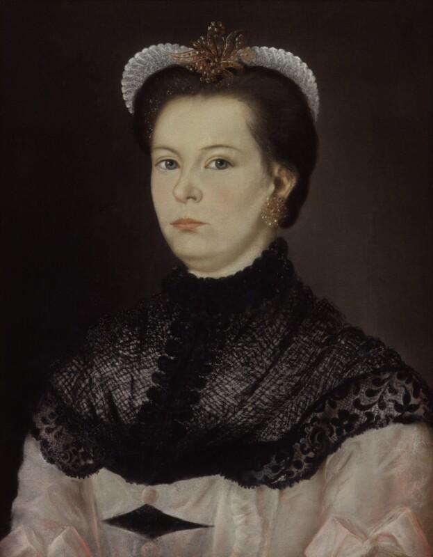 Ann Allan (née Nicholson), by Unknown artist, circa 1770-1775 - NPG 4308 - © National Portrait Gallery, London