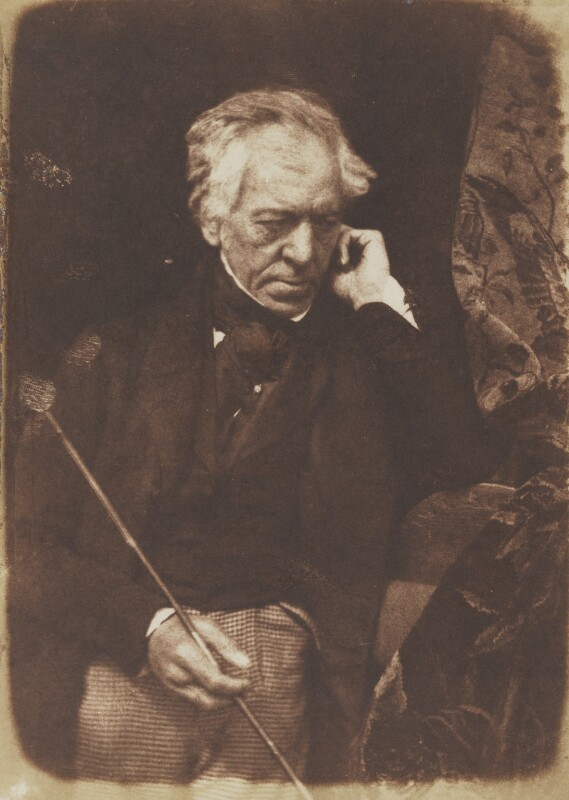 Sir William Allan, by David Octavius Hill, and  Robert Adamson, 1843-1848 - NPG P6(35) - © National Portrait Gallery, London