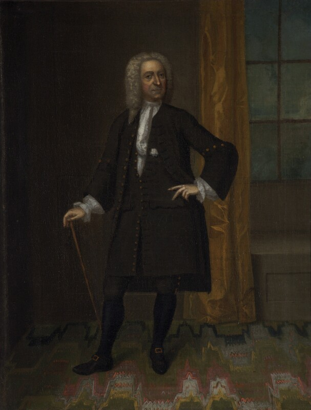 Unknown man, formerly known as Ralph Allen, by Unknown artist, circa 1730 - NPG 1580 - © National Portrait Gallery, London