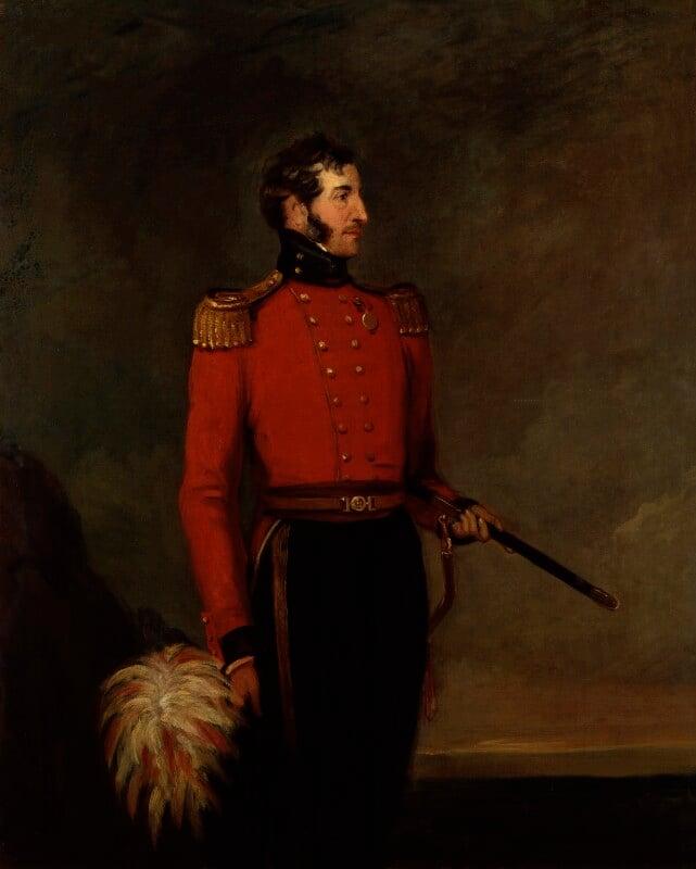 Charles Allix, by William Salter, 1837-1840 - NPG 3692 - © National Portrait Gallery, London