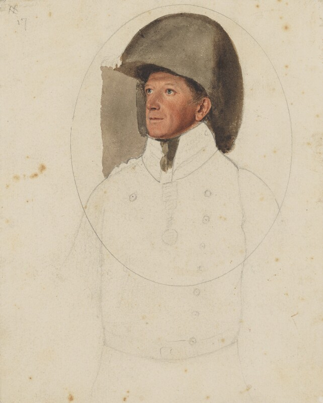Sir Charles Alten, Count von Alten, by Thomas Heaphy, 1813-1814 - NPG 1914(1) - © National Portrait Gallery, London