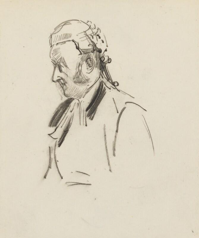 Richard Everard Webster, Viscount Alverstone, by Sydney Prior Hall, 1875-1900 - NPG 2300 - © National Portrait Gallery, London