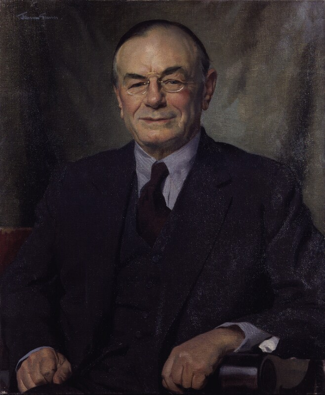 Leopold Stennett Amery, by Sir James Gunn, 1942 - NPG 4300 - © National Portrait Gallery, London