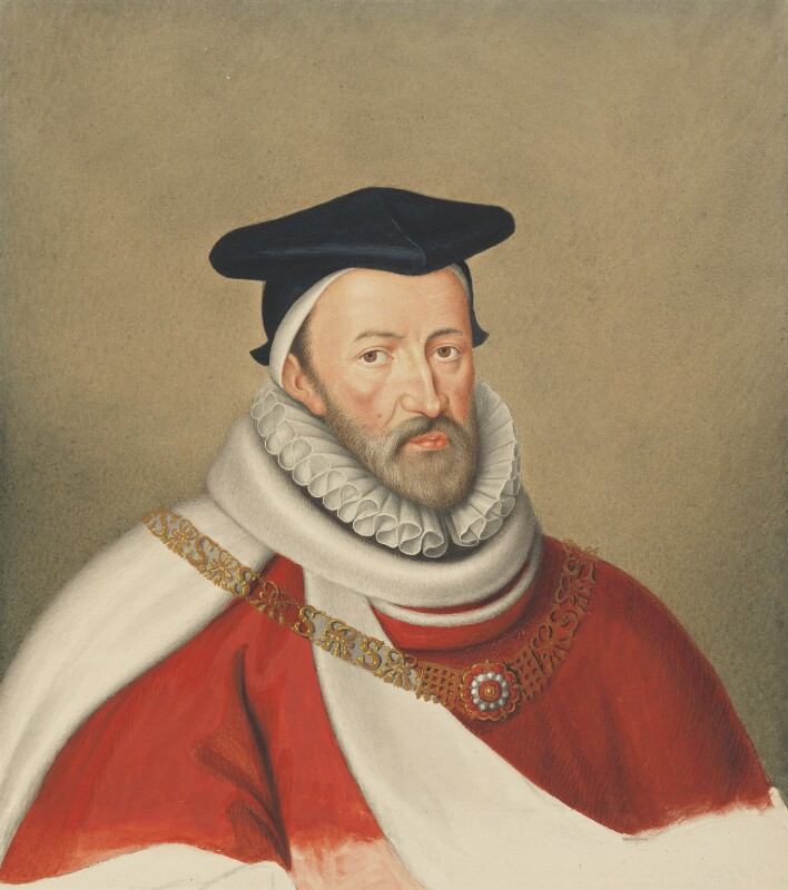 Sir Edmund Anderson, circle of George Perfect Harding, after  Unknown artist, first half of 19th century, based on a work of 1590s - NPG 456 - © National Portrait Gallery, London