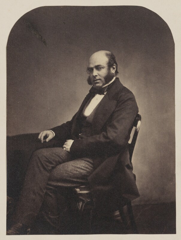 Professor Anderson, by Maull & Polyblank, circa 1855 - NPG P106(1) - © National Portrait Gallery, London