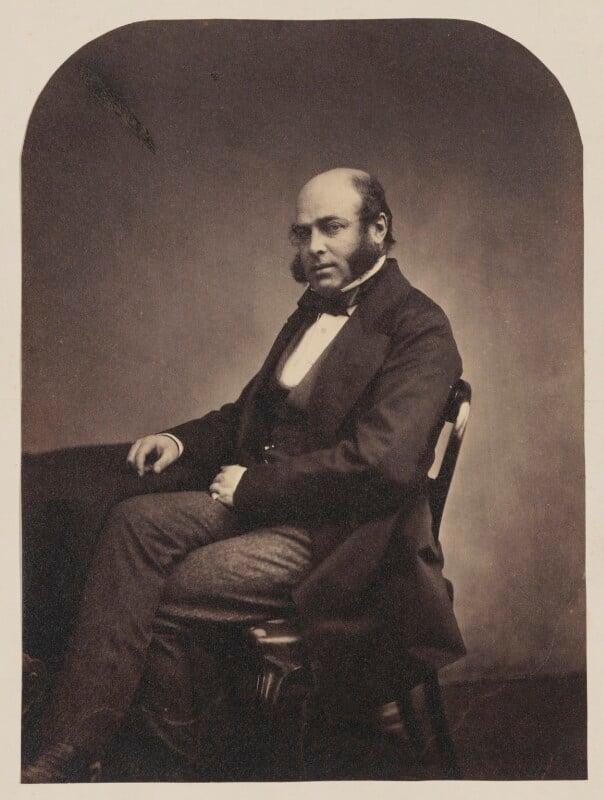 Professor Anderson, by Maull & Polyblank, circa 1855 - NPG P106(1) - © National Portrait Gallery, London