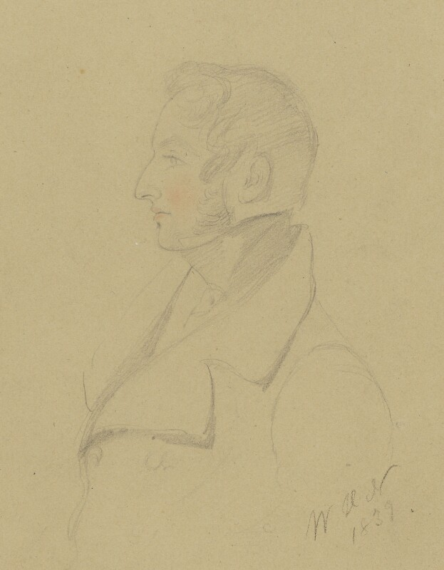 Henry Charles Angelo, by W.H. Nightingale, 1839 - NPG 2009a - © National Portrait Gallery, London