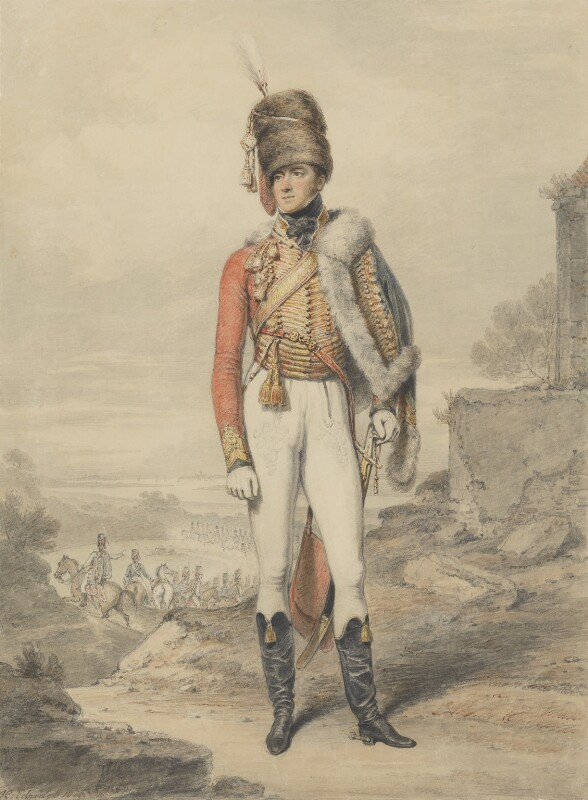 Henry William Paget, 1st Marquess of Anglesey, by Henry Edridge, 1808 - NPG 313 - © National Portrait Gallery, London