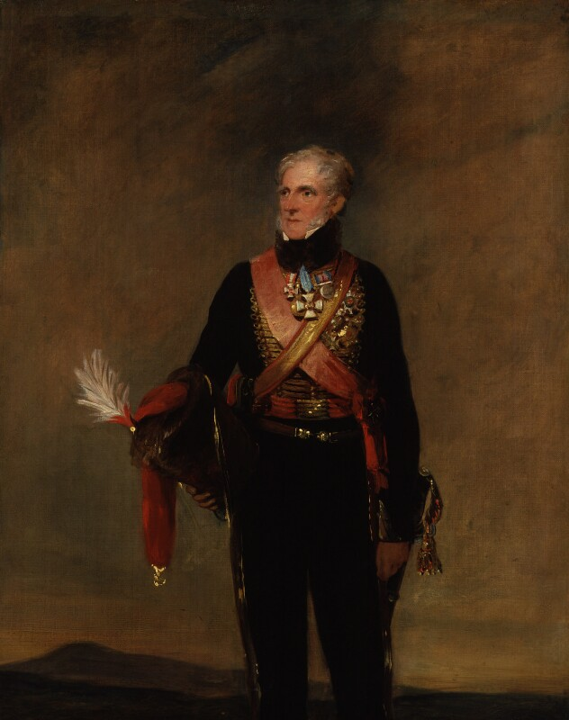 Henry William Paget, 1st Marquess of Anglesey, by William Salter, 1834-1840 -NPG 3693 -