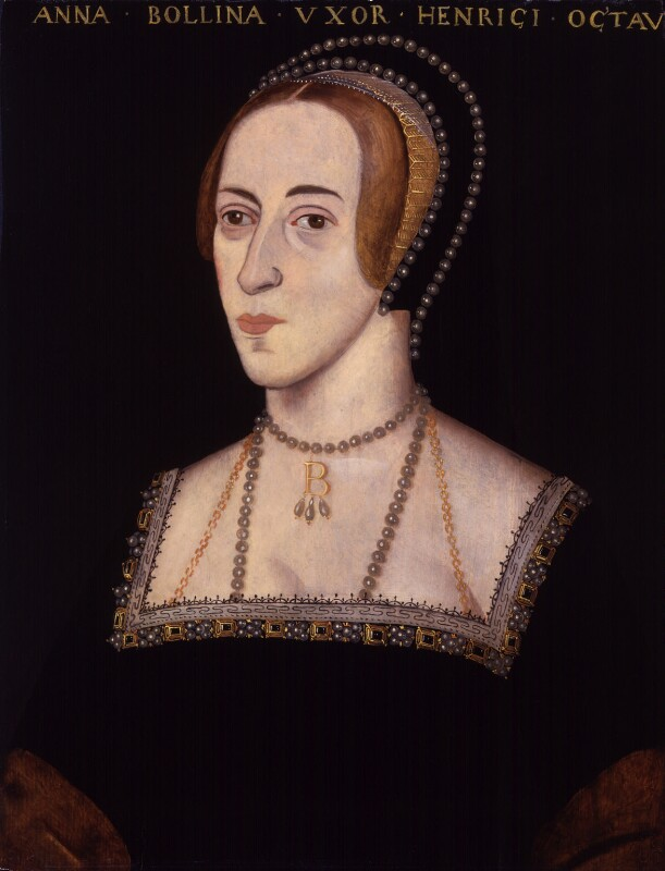 Anne Boleyn, by Unknown artist, 1597-1618 - NPG 4980(15) - © National Portrait Gallery, London