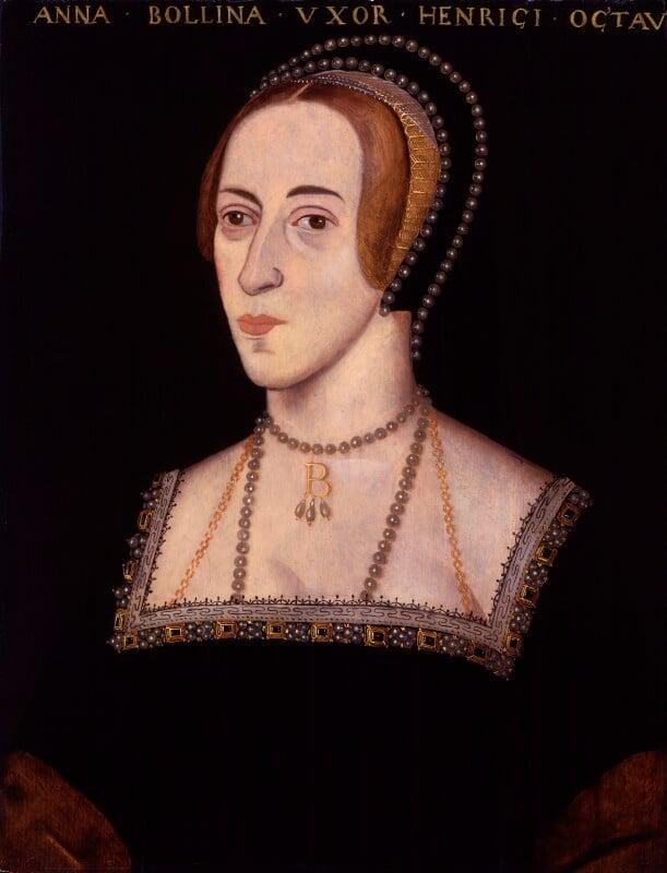 Anne Boleyn, by Unknown artist, 1597-1618 - NPG 4980(15) - © National Portrait Gallery, London