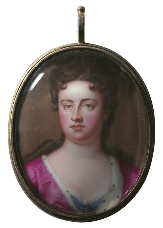 Queen Anne, by Charles Boit, circa 1705 -NPG 6282 - © National Portrait Gallery, London