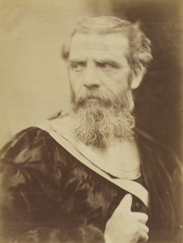 Richard Ansdell, by David Wilkie Wynfield, 1860s - NPG P70 - © National Portrait Gallery, London