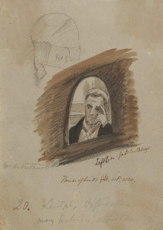 Charles Arbuthnot, by Sir George Hayter, circa 1820 - NPG 2662(14) - © National Portrait Gallery, London