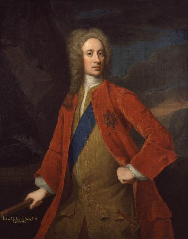 John Campbell, 2nd Duke of Argyll and Greenwich, by William Aikman, circa 1720 -NPG 737 - © National Portrait Gallery, London