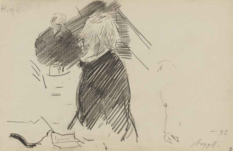 George Douglas Campbell, 8th Duke of Argyll, by Sydney Prior Hall, 1893 - NPG 2338 - © National Portrait Gallery, London