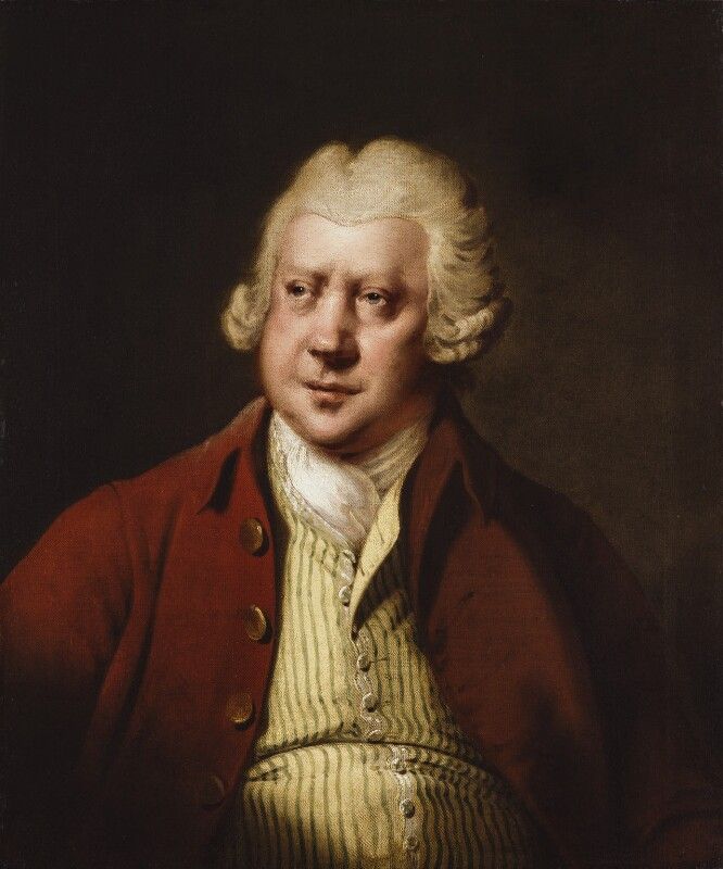 Sir Richard Arkwright, by Joseph Wright, circa 1790 -NPG 136 - © National Portrait Gallery, London