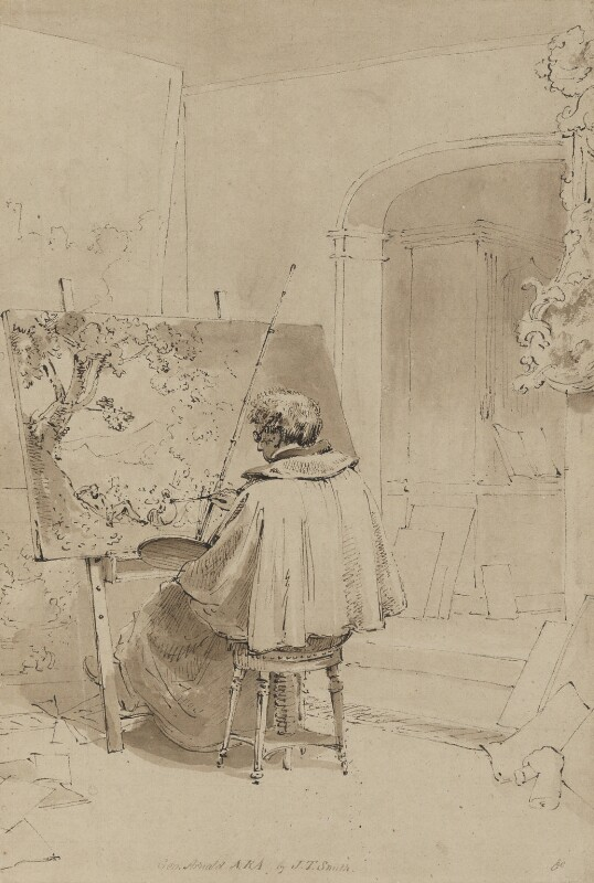 George Arnald, by John Thomas Smith, circa 1830 - NPG 1967a - © National Portrait Gallery, London