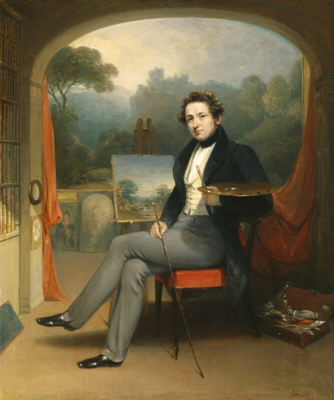 George Arnald, by George Arnald, 1831 - NPG 5254 - © National Portrait Gallery, London