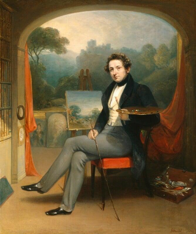 George Arnald, by George Arnald, 1831 -NPG 5254 - © National Portrait Gallery, London