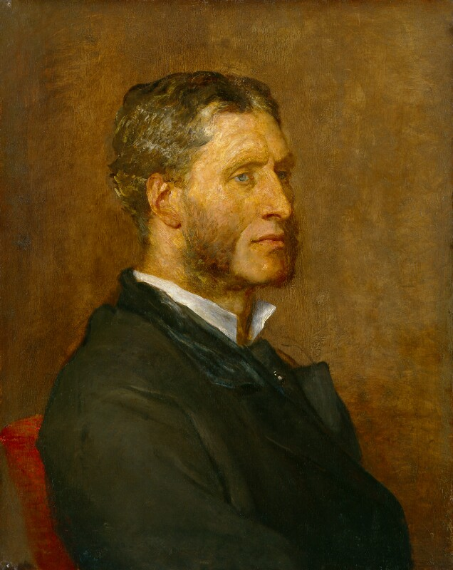 Matthew Arnold, by George Frederic Watts, 1880 - NPG 1000 - © National Portrait Gallery, London