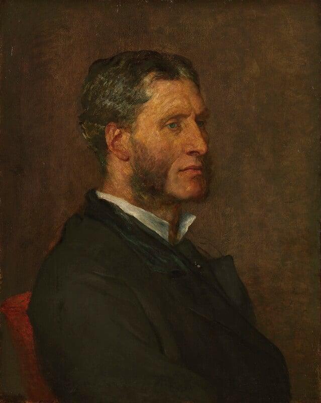 Matthew Arnold, by George Frederic Watts, 1880 - NPG 1000 - © National Portrait Gallery, London