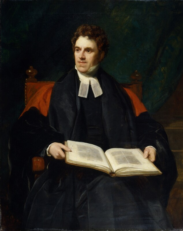 Thomas Arnold, by Thomas Phillips, 1839 - NPG 1998 - © National Portrait Gallery, London