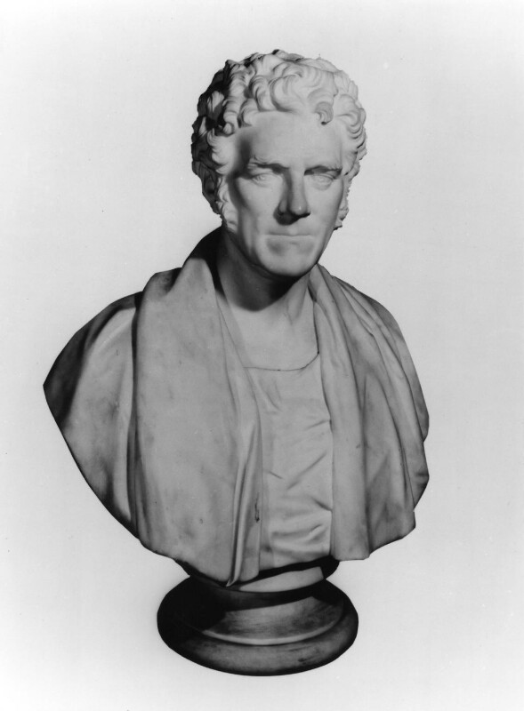 Thomas Arnold, by William Behnes, 1849 -NPG 168 -