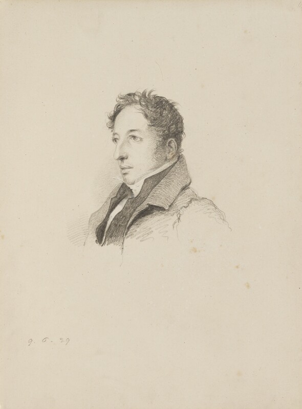 Francis Vyvyan Jago Arundell, by William Brockedon, 1829 - NPG 2515(36) - © National Portrait Gallery, London